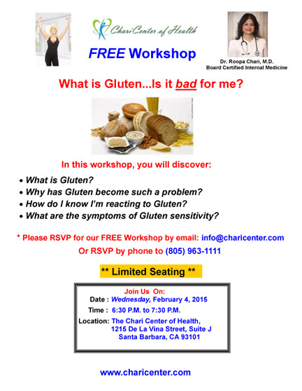Gluten Workshop in Santa Barbara