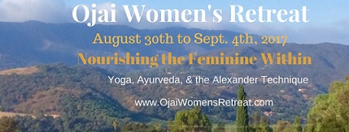 Ojai Women's Retreat - Yoga, Ayurveda