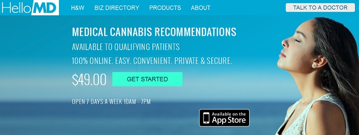 California Medical Cannabis Prescriptions Recommendations