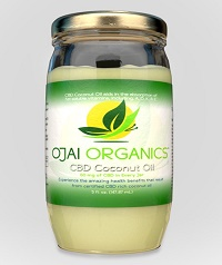 Organic CBD Coconut Oil Jar