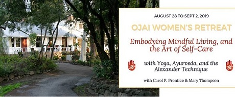 Women's Wellness Retreat in Ojai near Santa Barbara